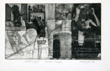 6605 - Ursla Transfer - 10x17 - Etching - $5,000